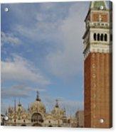 Piazza San Marco Acrylic Print
