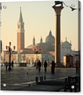 Piazzetta San Marco In Venice In The Morning Acrylic Print