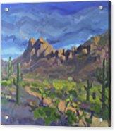 Picacho Peak Acrylic Print