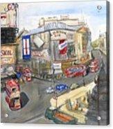 Picadilly Circus Acrylic Print