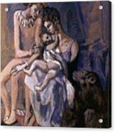 Picasso: Acrobats, 1905 Acrylic Print
