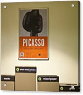 Picasso Poster Acrylic Print