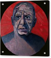 Picasso The Artist Icon Acrylic Print