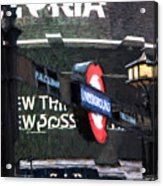 Piccadilly Acrylic Print