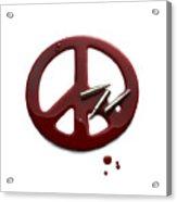 Peace Talks Acrylic Print