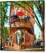 Pickel Barrel 2 Chattanooga Tennessee Cityscape Art Acrylic Print