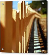 Picket Fence Acrylic Print
