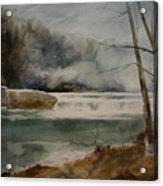 Picketts Dam Acrylic Print