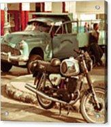 Pickup Bike  Acrylic Print