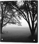 Picnic In The Fog Acrylic Print