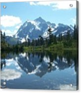Picture Lake Acrylic Print