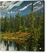 Picture Lake Vista Acrylic Print