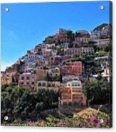 Picture Perfect Positano. Acrylic Print