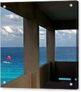 Picture Windows Acrylic Print