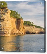 Pictured Rock Acrylic Print
