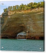 Pictured Rocks Arch Acrylic Print