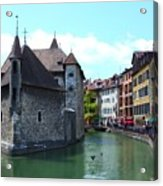 Picturesque Annecy, France Acrylic Print