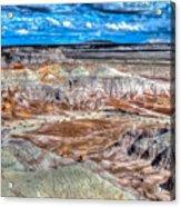 Picturesque Blue Mesa Acrylic Print
