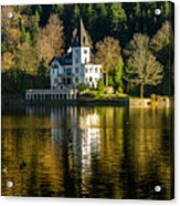 Picturesque Grundlsee Acrylic Print