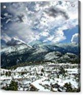 Picturesque Mountain Landscape Acrylic Print