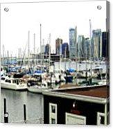 Picturesque Vancouver Harbor Acrylic Print