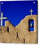 Picuras Pueblo Mission Belltower. Acrylic Print