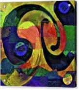 Piece By Piece Acrylic Print