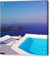 Piece Of Mediterranean Paradise Acrylic Print