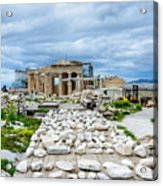 Acropolis - Pieces Of The Puzzle Acrylic Print