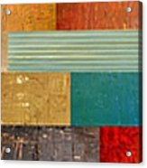 Pieces Project V Acrylic Print by Michelle Calkins