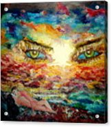 Piequal3because14 Acrylic Print