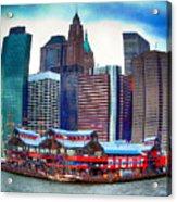 Pier 17 Ny Ny Acrylic Print
