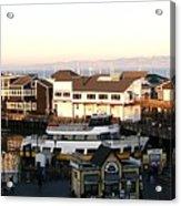 Pier 39 Panorama Acrylic Print