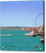 Pier 56 Action Acrylic Print