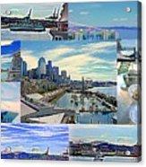 Pier 66 Collage Acrylic Print