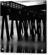 Pier Abstract Acrylic Print