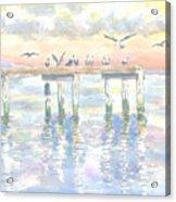 Pier Jury Acrylic Print
