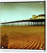 Pier Open Every Day Acrylic Print