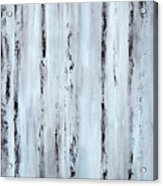 Pier Planks Acrylic Print