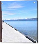 Pier Posted Acrylic Print