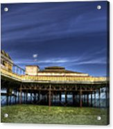 Pier Structure Acrylic Print