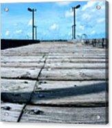 Pier To The Sky Acrylic Print