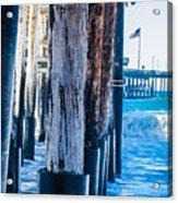 Pier Ventura Ca Acrylic Print