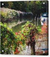 Piermont Fall Color Acrylic Print