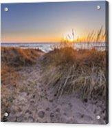 Pierport Beach Dunes Acrylic Print
