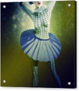 Pierrette At The Opera Acrylic Print