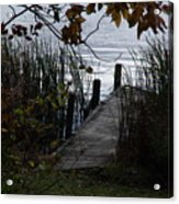 Pier's End Acrylic Print