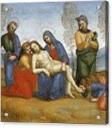 Pieta Raffaello Sanzio Da Urbino Raphael Raffaello Santi Acrylic Print
