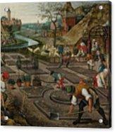 Pieter Breughel The Younger Acrylic Print
