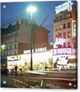 Pigalle Paris Acrylic Print